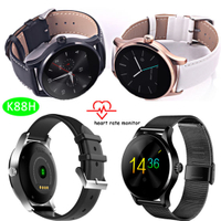 Fashionable Bluetooth Intelligent Watch with IP54 Waterproof (K88H)