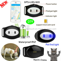 CE Approved Animal/Pet GPS Tracker with multiple Position D79
