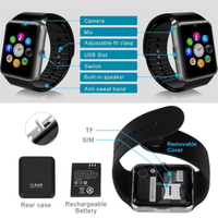 Fashionable Smart Mobile Watch with Bluetooth (GT08)