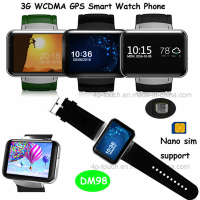 Android System WiFi Mobile Watch Phone with GPS Function (DM98)