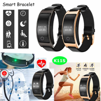 Smart Bracelet with Blood Pressure and Heart Rate Monitor K11s