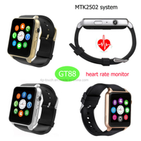 Waterproof Smart Watch Phone with Heart Rate Monitor GT88