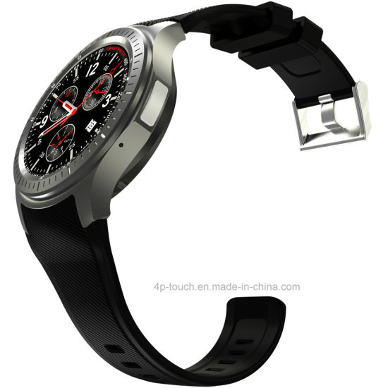 3G/WiFi Round Screen Smart Watch with Heart Rate Monitor DM368