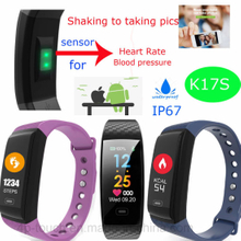 Colorful Screen Fitness Bracelet with Heart Rate & Blood Pressure K17s