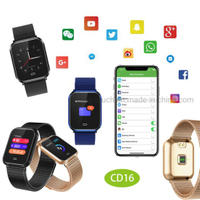 IP67 waterproof Smart bluetooth Bracelet with GPS Routine Trajectory CD16