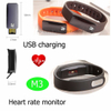 Hot Sale Wearable Device Fitness smart bracelet with Heart Rate monitor(M3)