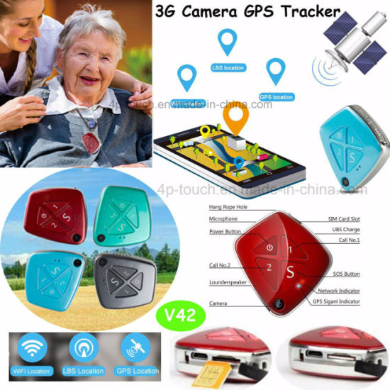 3G Mini GPS Tracker for Personal with WiFi Location (V42)