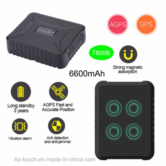 Vehicle/Goods GPS Tracker with Low Battery Alarm T800B