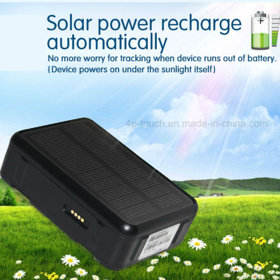 IP67 Waterproof Solar Power vehicle GPS Tracker with multiple accurate positioning V34