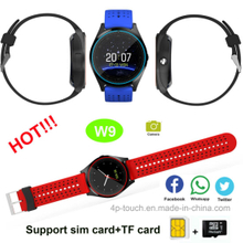 2g Bluetooth Smart Watch with Call and Take Pictures (W9)