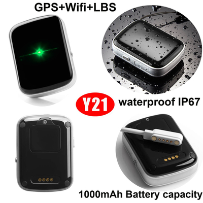 IP67 Waterproof Hot Selling Developed personal GPS Tracker Y21