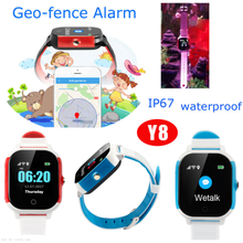 Waterproof Kids GPS Watch Tracker with multiple Positioning (Y8)
