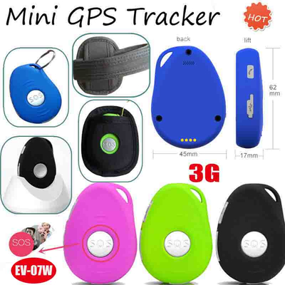 3G IP66 waterproof GPS Tracker with Sos & Fall Down Alarm EV07W