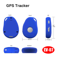 Hot Selling Mini GPS Tracker with IP66 Waterproof & Sos (EV07)