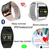 Three Colors Fasional Design IP67 Waterproof Smart Bracelet with Blood Pressure Monitor P63