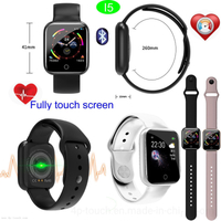1.3inch IPS Screen Swimming Waterproof Smart Bluetooth Bracelet with Heart Rate Monitoring I5