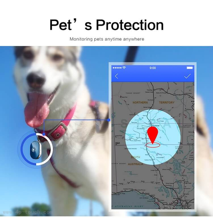 High Quality Pets GPS Tracking with Sos Button Pm01