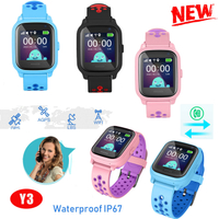 Smart GPS Tracker Watch Phone GPS Locator with Geo-fence Y3