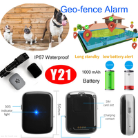 1000mAh Battery Pets GPS Tracker with IP67 Waterproof Y21