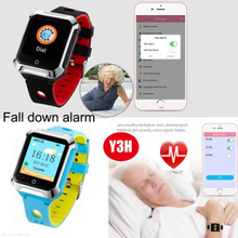 Senior GPS Tracking Watch Phone with Fall Down Alarm Y3H