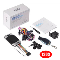 2G Vehicle GPS Car Alarm Tracker with Shock Sensor T303