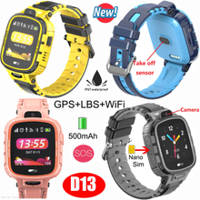 3-6 Years Kids GPS Tracking Smart Watch with IP67 Waterproof D13
