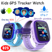 IP67 Real-Waterproof Baby Smart GPS Tracking Device with Sos D25