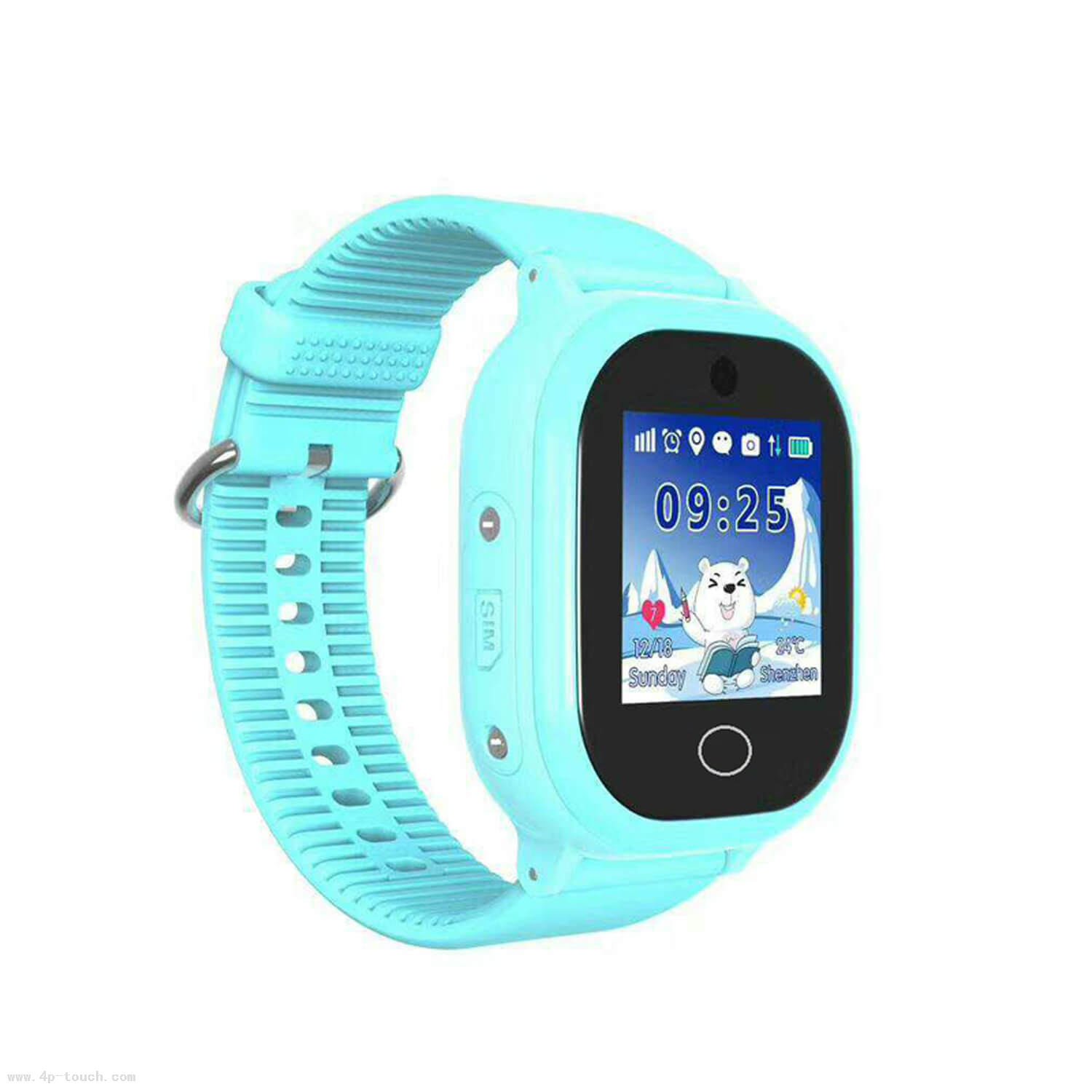 New Quality IP67 Waterproof Kids GPS Tracker Watch D25s