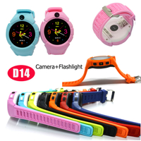 Fashional Kids GPS Watch Accuracy Tracker with Flashlight&Camera D14