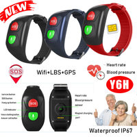 Senior Bracelet Tracker GPS with Blood Pressure Monitor Y6H