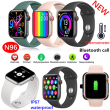 N96 Smart Watch Waterproof Body Temperature Fitness Tracker Smart Bracelet