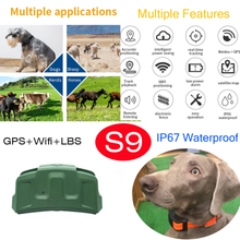 Portable Hunting Dog GPS Tracking Tracker GPS Locator with Waterproof IP67