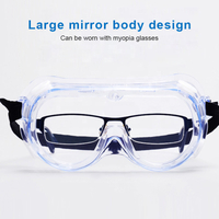 Anti-fog Silicone Safety Eyewear Protective Goggles