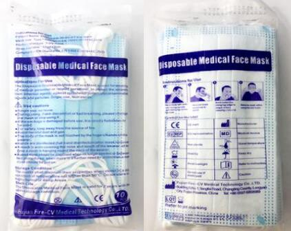 Factory Wholesale 3-Ply Non-Sterile Type II Medicial Face Mask with BFE>98%