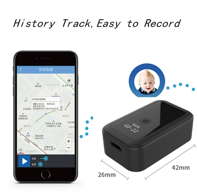Mini Locator Car Anti-Theft Tracker with Strong Magnetic Adsorption