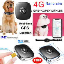 Waterproof Portable 4G Pet Mini Real Time GPS Tracker