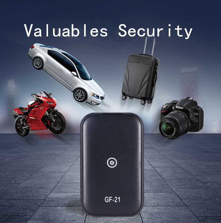 GF-21 Mini GPS Tracker APP Voice Control Anti-Theft Device Locator