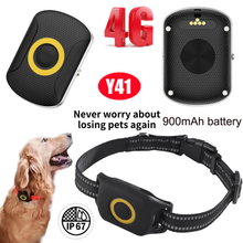 Pet 4G IP67 Waterproof Mini GPS tracker with Real-Time Google Map Y41