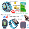 Video call 4G Waterproof IP67 Android Kids GPS Tracker Watch with body temperature