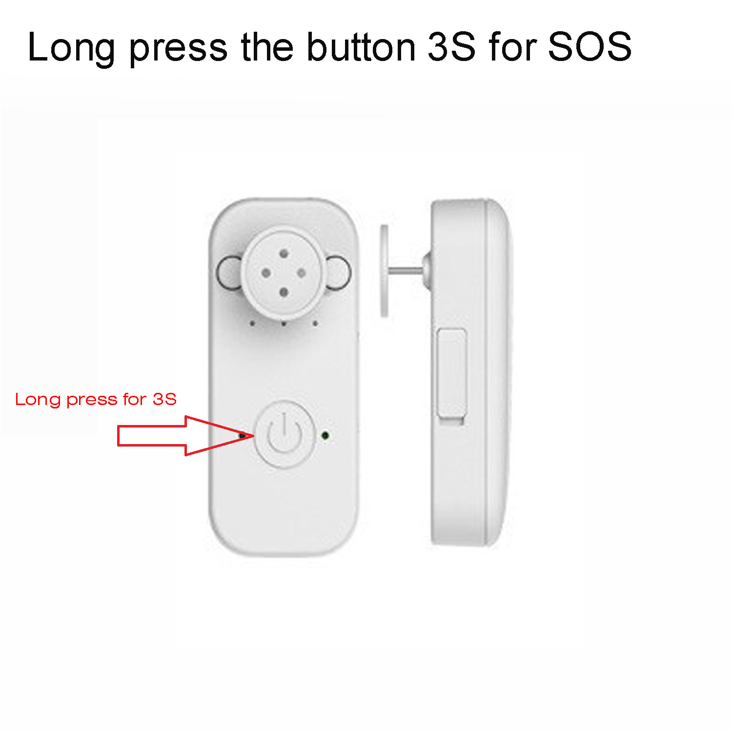 Waterproof Mini Real Time GPS Tracking Device with Sos Button Voice Monitor A23