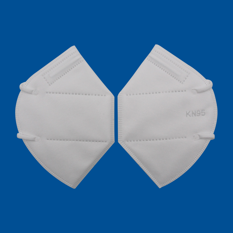 KN95 protective face masks dust respirators with individually package