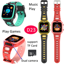 New Boys Girls Kids Smart Watch Built-in SIM Card Slot 7 Puzzles Games Smart Watch D23